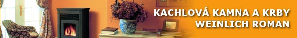 Kachlová kamna a krby - Weinlich Roman